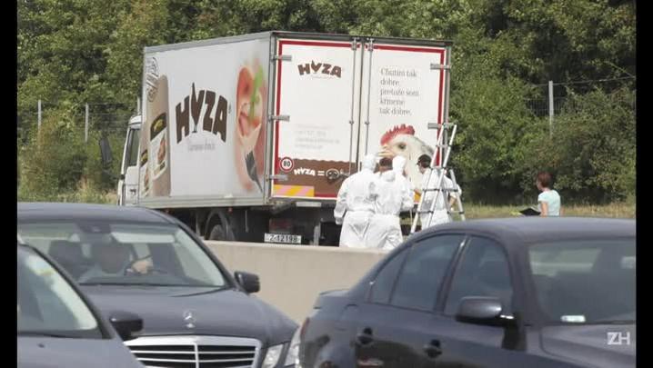 Dezenas de migrantes são encontrados mortos em caminhão na Áustria
