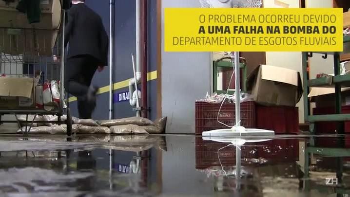Alagamento no prédio do TJ causa prejuízo de R$ 1,5 milhão