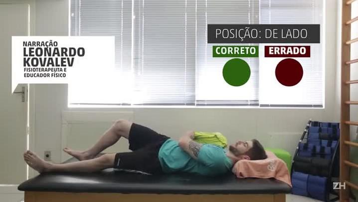 Saiba quais são as posições certas (e as erradas) para dormir
