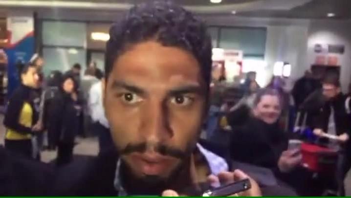 Wallace chega à Capital para defender o Grêmio
