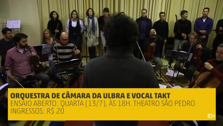 "Orquestra da Ulbra interpreta ""Under pressure\"""