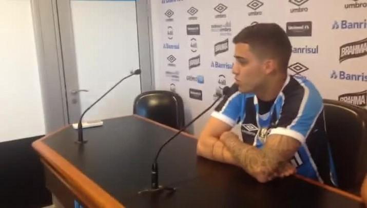 Beto da Silva é apresentado pelo Grêmio