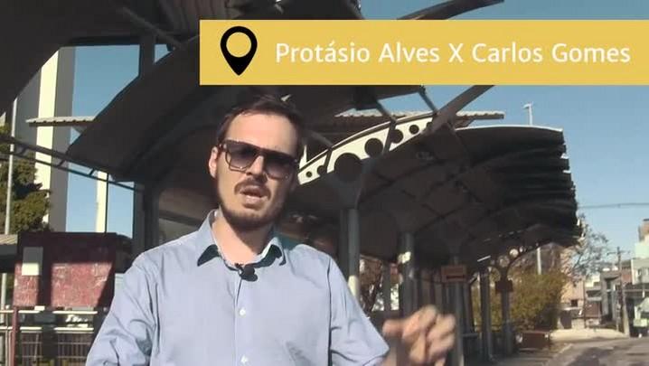 Pelas Ruas mostra a depredação e falta de acessibilidade no Viaduto Mendes Ribeiro, em Porto Alegre