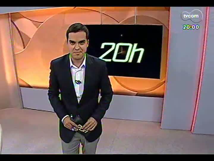 TVCOM 20 Horas - 21/12/12 - Bloco 1 - Novo secretariado de Fortunati
