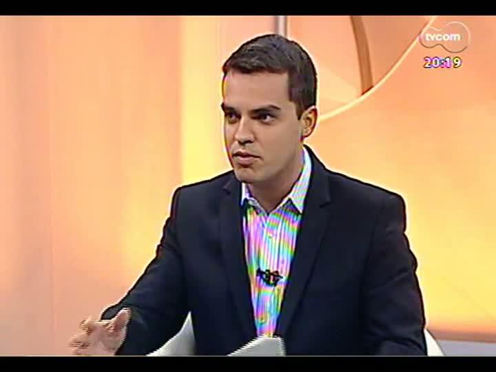 TVCOM 20 Horas - Explicações e providências do dia seguinte à chuvarada - Bloco 3 - 21/02/2013