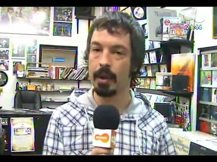 TVCOM Tudo Mais - Lúcio Brancato comemora o aniversário de Porto Alegre em uma loja de discos muito especial