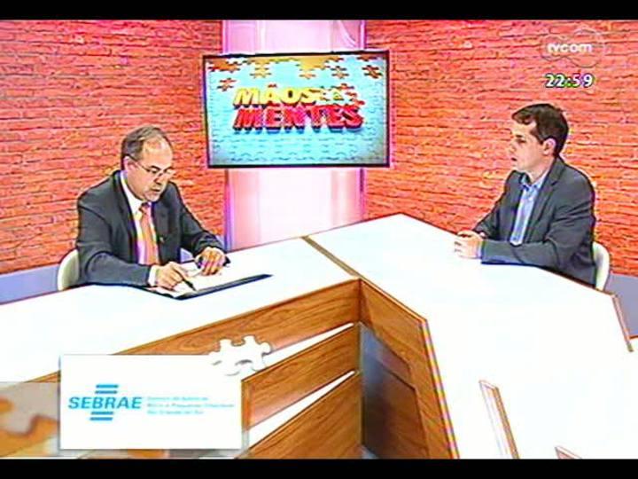 Mãos e Mentes - Presidente da Associação Brasileira de Carvão Mineral, Fernando Luiz Zancan - Bloco 1 - 07/04/2013