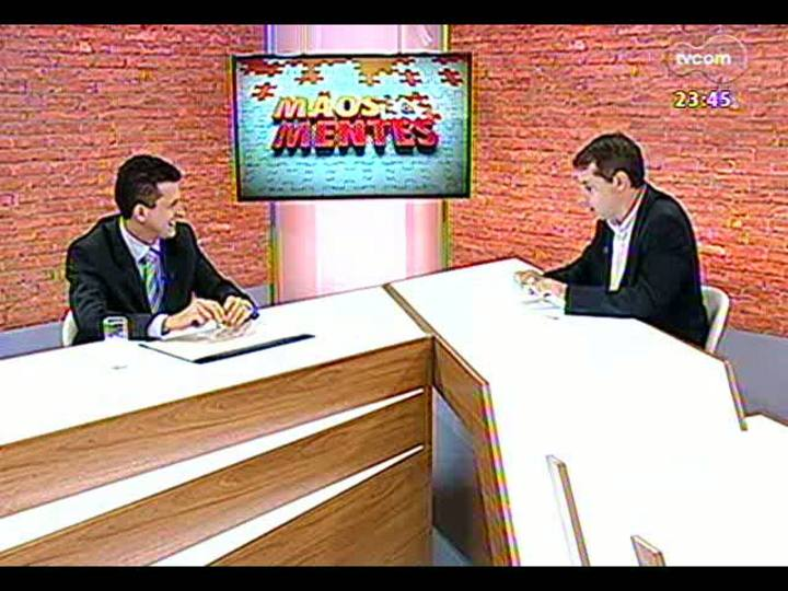 Mãos e Mentes - Presidente da Associação das Empresas Brasileiras de Tecnologia da Informação, Robinson Oscar Klein - Bloco 2 - 24/03/2013