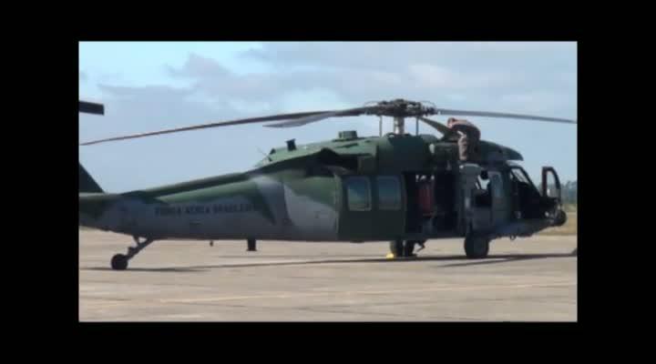 Helicópteros da Base Aérea de Santa Maria devem decolar rumo ao Rio de Janeiro e Brasília para atuar na Copa das Confederações