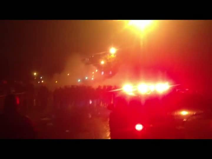 Manifestantes e policiais entram em confronto na Capital 20/06/2013