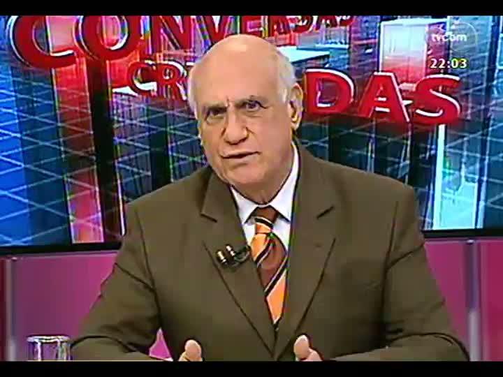 Conversas Cruzadas - Debate sobre a dívida do governo do RS: motivos, gravidade e possíveis soluções - Bloco 1 - 12/08/2013