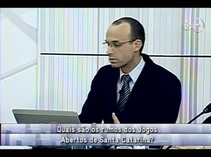Conversas Cruzadas – Possíveis mudanças no Jasc – Jogos Abertos de SC - 4º Bloco – 23-08-2013