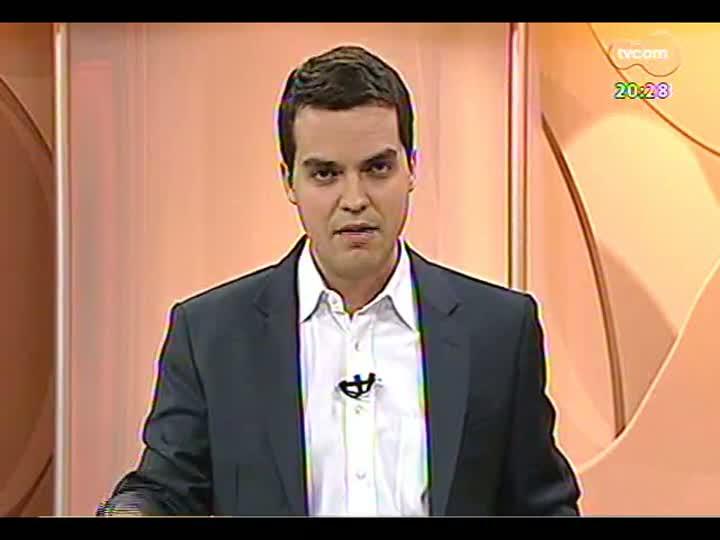 TVCOM 20 Horas - Análise do primeiro dia de paralização dos professores estaduais - Bloco 3 - 26/08/2013