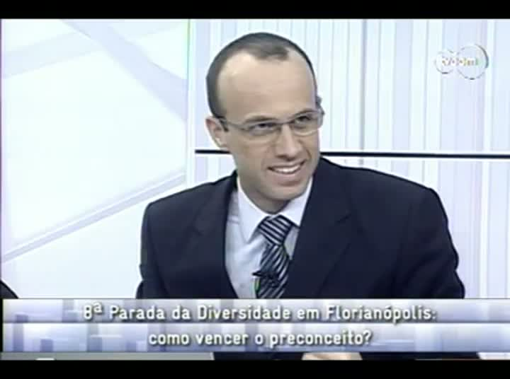 Conversas Cruzadas - 8ª Parada da Diversidade Florianópolis - 4º Bloco – 28-08-2013