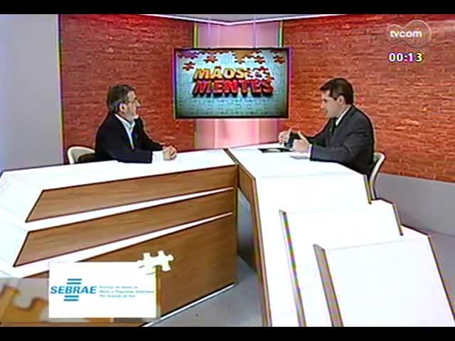 Mãos e Mentes - superintendente do Senar-RS, Gilmar Tietböhl - Bloco 4 - 15/10/2013