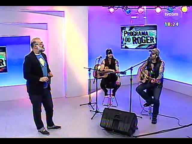 Programa do Roger - Rosa Tattooada fala de novo CD e show - bloco 4 - 16/10/2013