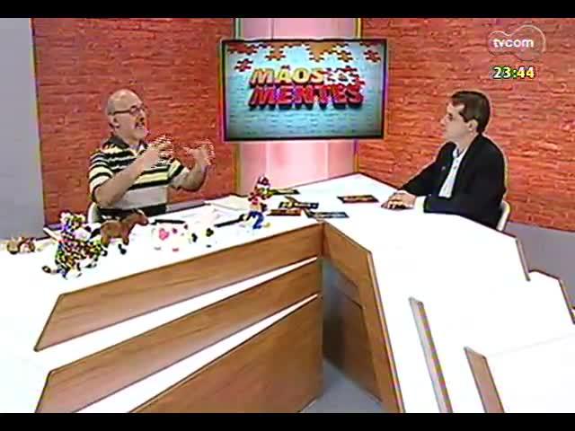 Mãos e Mentes - Professor e escritor Ari Riboldi - Bloco 2 - 08/11/2013