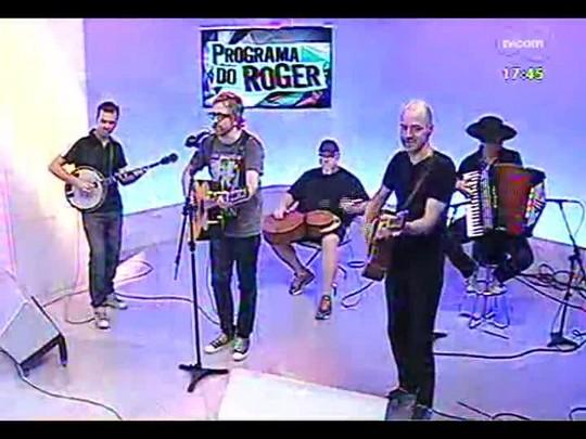 Programa do Roger - \'Nenhum de Nós\' fala sobre a turnê no Theatro São Pedro - bloco 1 - 03/12/2013
