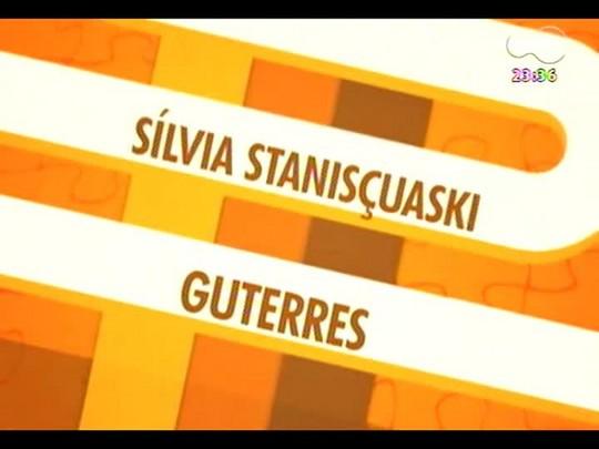 Mãos e Mentes - Coordenadora de rede de nanotecnologia Farmacêutica/Capes, Sílvia Gutteres - Bloco 1 - 19/12/2013
