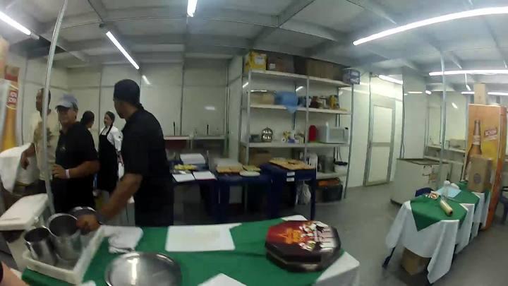 A cozinha dos artistas
