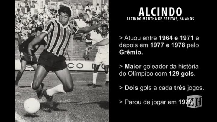 Alcindo se despede do Olímpico