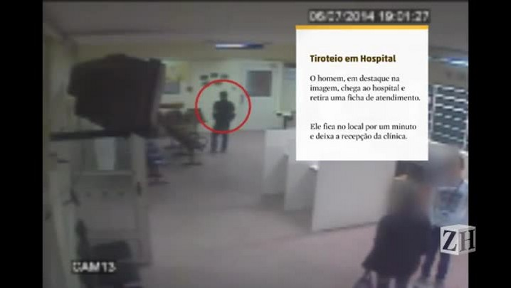 Homem armado invade hospital em Viamão