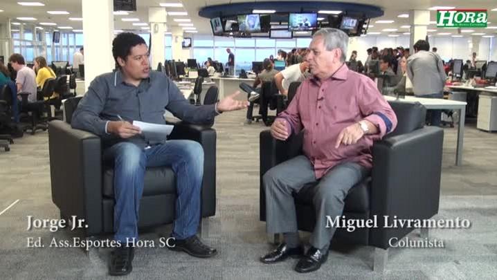 """Miguel Livramento: \""""Não sei se é hora de colocar Marquinhos e Cleber no banco\"""""""