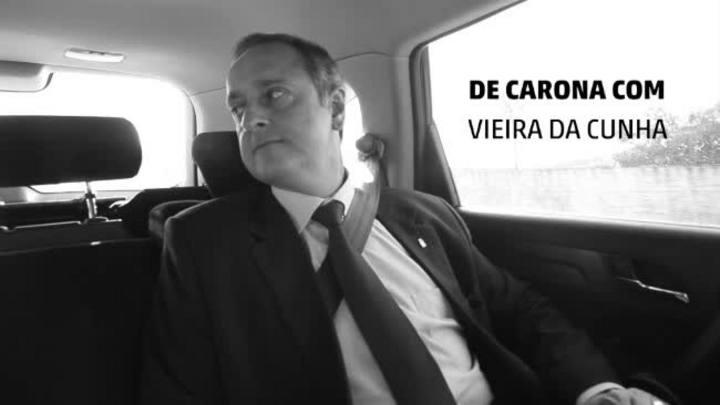 De Carona com o Candidato: Vieira da Cunha