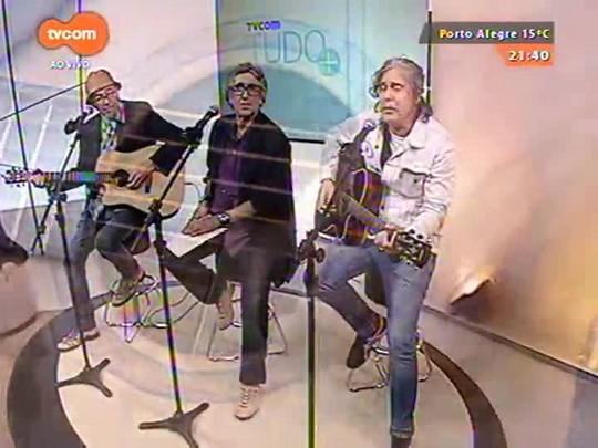 TVCOM Tudo Mais - \'Os três plantados\': músicos Jimi Joe, Bebeto Alves e King Jim falam sobre a experiência de serem transplantados