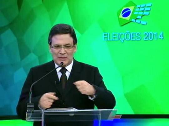 Eleições 2014 - Debate entre candidatos a vice - bloco 4