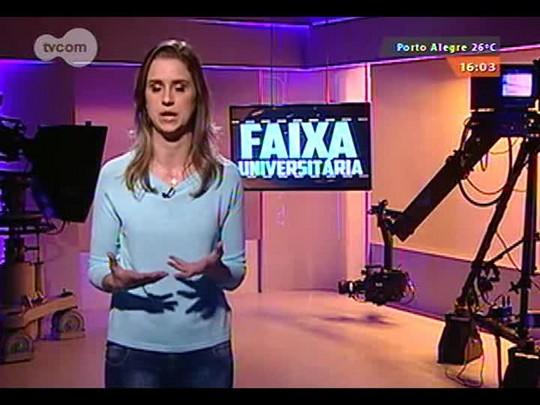 Faixa Universitária - \'Papo Faixa\': Conversa com o repórter André Azeredo da RBS TV