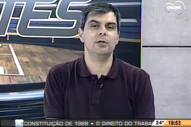 TVCOM Esportes - Gerente de futebol do Figueira, Cléber Giglio, falou sobre as negociações para a disputa contra o Inter - 26.11.14