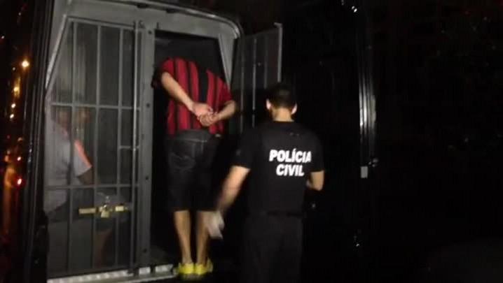 Confira o momento da prisão do número 2 dos \'Bala na Cara\'