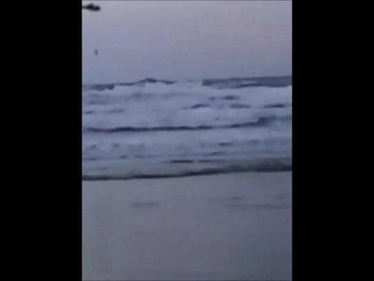 Surfista é resgatado por helicóptero em São Francisco do Sul