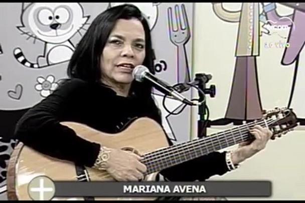 TVCOM Tudo+ - Bate papo com cantora Mariana Avena - 24.06.15