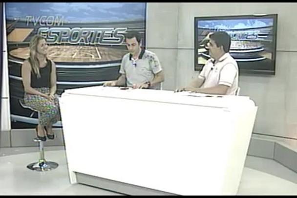 TVCOM Esportes. 2º Bloco. 08.01.16