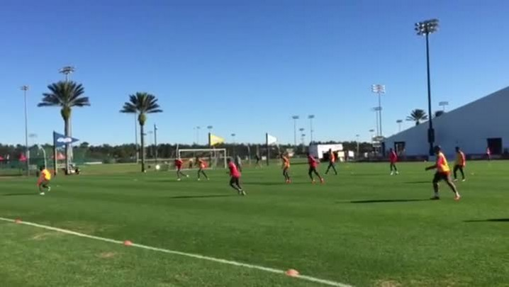 Inter faz treino intenso em Orlando