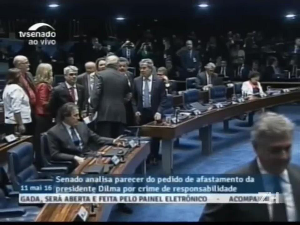 Assista na íntegra a fala de Fernando Collor na sessão do impeachment no Senado