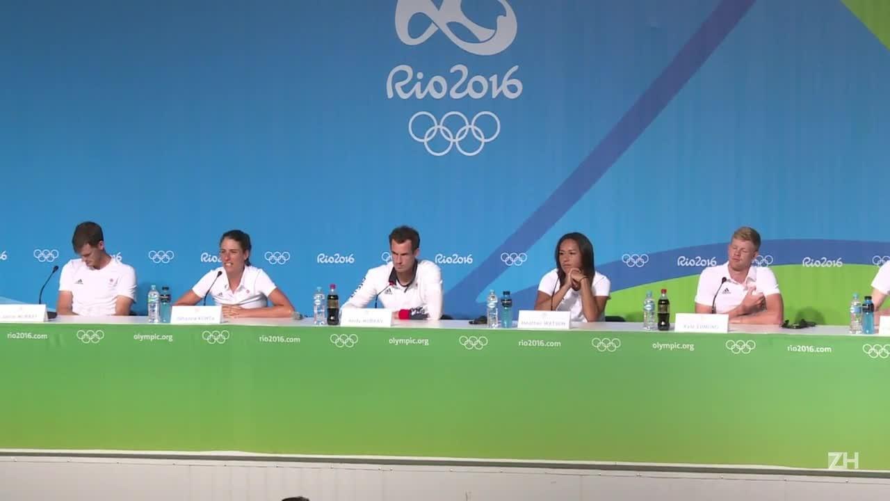 Murray tenta bi olímpico