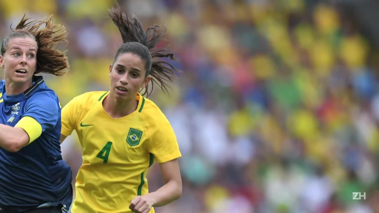 Brasil não vai disputar ouro no futebol feminino
