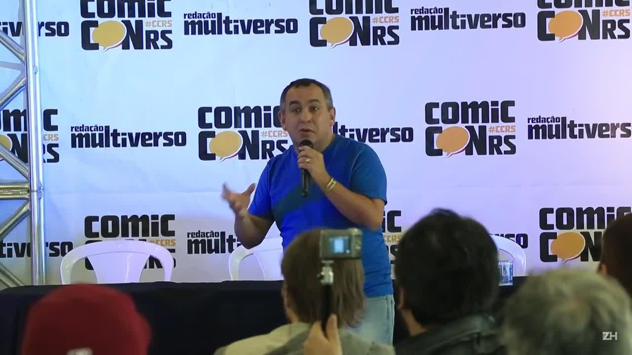 Primeiro dia da ComicCON RS