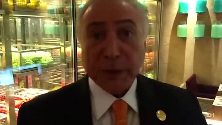 Michel Temer comenta incêndio na Marcopolo