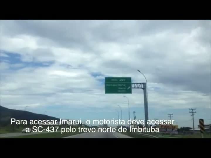 Conheça uma rota alternativa para evitar a lentidão em Laguna na volta do carnaval. 10/02/2013