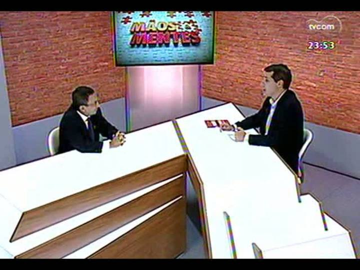 Mãos e Mentes - Estrategista de Marcas e vice-presidente de Planejamento e Marketing da ADVB, Arthur Bender - Bloco 3 - 19/03/2013