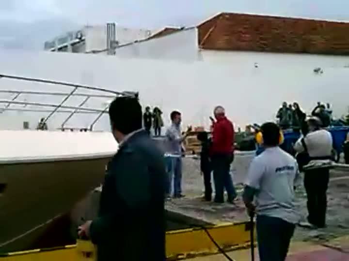 Exclusivo: Luciano Huck batiza lancha em Floripa