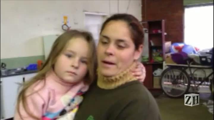 Confira relato de família desabrigada com cheias no Vale do Caí