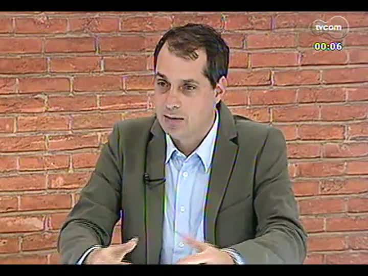 Mãos e Mentes - Presidente do Simers, Cláudio Bier - Bloco 4 - 27/08/2013