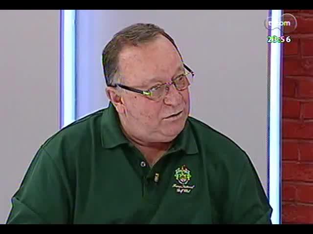 Mãos e Mentes - Jornalista e comentarista esportivo, Pedro Ernesto Denardin - Bloco 4 - 11/09/2013