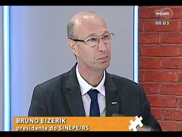 Mãos e Mentes - Presidente do Sindicato do Ensino Privado do RS, Bruno Eizerik - Bloco 3 - 15/11/2013