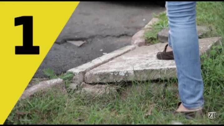 Armadilhas urbanas: os problemas nas ruas e avenidas da Capital